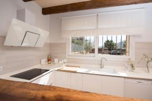 Küche/Küchenzeile in der Unterkunft Can Ferrer