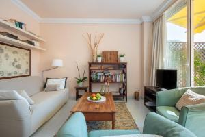 Area soggiorno di Apartament Carla