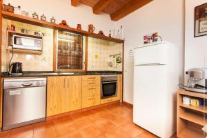 Una cocina o zona de cocina en Fontxica
