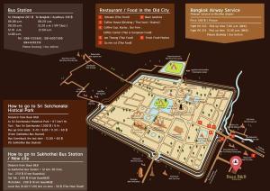 The floor plan of Baan B&B Sukhothai