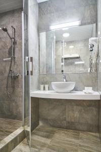 Ванная комната в Гостиница Адмиралтейская