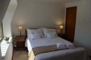 Cama o camas de una habitación en Los Araucanos