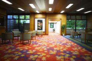 The lounge or bar area at Takamiya Hotel Bonari no Mori