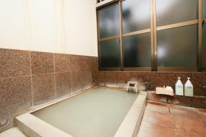 A bathroom at Ryokan Masuya