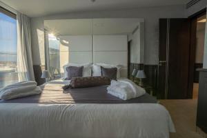Postel nebo postele na pokoji v ubytování Myo Hotel Wenceslas