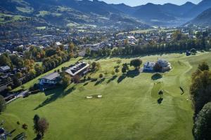 A bird's-eye view of Rasmushof - Hotel Kitzbühel