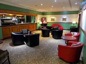 The lounge or bar area at The Waterside