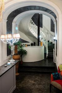 The lobby or reception area at Villa Elisio Hotel & Spa