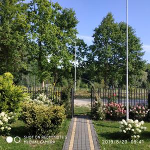 Ogród w obiekcie Apartament