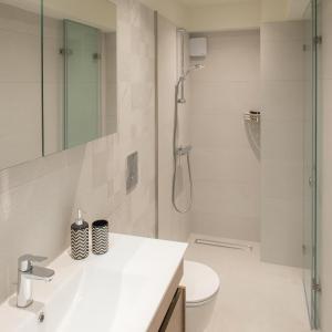 A bathroom at Villa Mathea