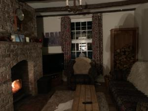 Ein Sitzbereich in der Unterkunft Church View B&B & Holiday Cottages
