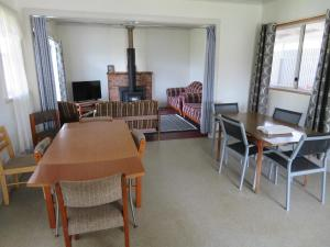 Dining area at the campground
