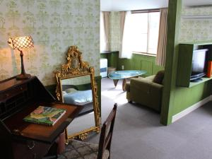 A seating area at Hotel Wellies