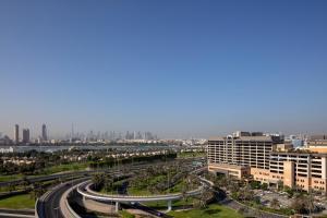منظر بولمان دبي كريك سيتي سنتر من الأعلى