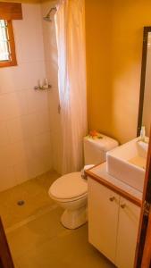 A bathroom at Koro Sun Resort & Rainforest Spa