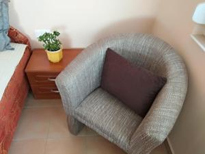 A seating area at YELLOW APARTMAN