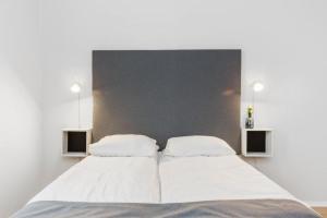 Lova arba lovos apgyvendinimo įstaigoje Forenom Serviced Apartments Oslo Vika