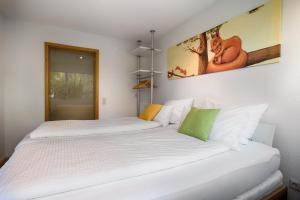 Ein Bett oder Betten in einem Zimmer der Unterkunft Hochschwarzwald Ferienwohnung