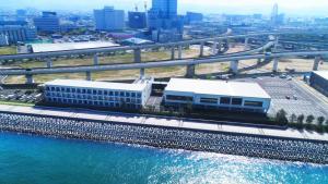 A bird's-eye view of Henn na Hotel Kansai Airport