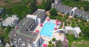 Monna Roza Garden Hotel с высоты птичьего полета