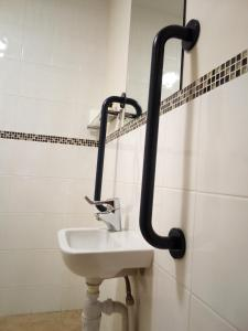 A bathroom at Weald of Kent Golf Course and Hotel