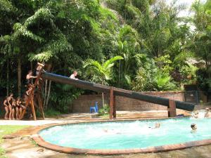 The swimming pool at or near Umfolozi Riverlodge & Birdpark