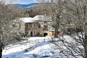 Le Moulin Malin during the winter