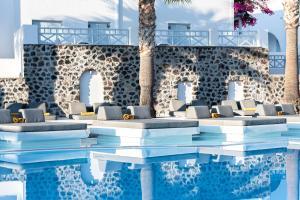The swimming pool at or near Santorini Kastelli Resort