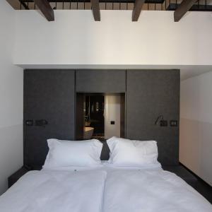 Ein Bett oder Betten in einem Zimmer der Unterkunft Hotel Gabbani