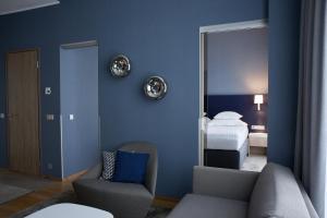 Istumisnurk majutusasutuses Tallink Spa & Conference Hotel