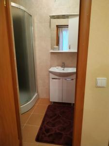Ванная комната в Guest house on Ilushkina 5
