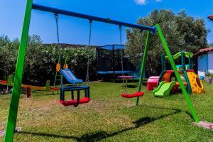 De kinderspeelruimte van Flegra Palace