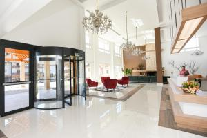 The lobby or reception area at Hotel Alles Berg