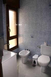 Un baño de Hotel Restaurante Valdevenados