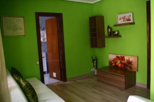 Zona de estar de Hotel Restaurante Valdevenados