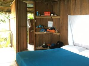 A bed or beds in a room at Punta Brava