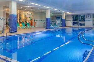 The swimming pool at or near Hilton Newcastle Gateshead