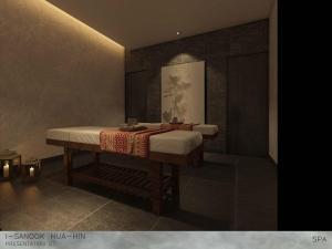 A bathroom at iSanook Resort & Suites Hua Hin - SHA Plus Certified