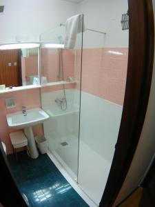 A bathroom at Albergo Residence Italia Vintage Hotel