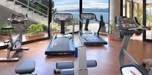 Gimnasio o equipamiento deportivo en Cacique Inacayal Lake Hotel & Spa
