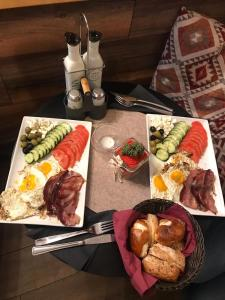 Breakfast options available to guests at Residence Fink Central Apartments