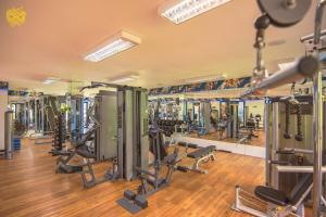 The fitness center and/or fitness facilities at Costão do Santinho Resort All Inclusive