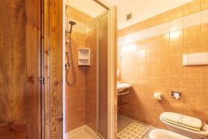 A bathroom at Hotel Santa Maria