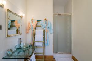 Een badkamer bij B&B Azee