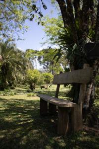 A garden outside Pousada Villa Vitoria