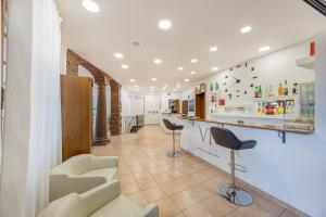 Salone o bar di Hotel Villa Piras