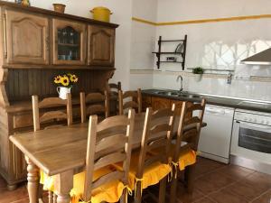 Una cocina o zona de cocina en EL CAPRICHO DE ANDREA,