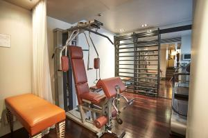The fitness center and/or fitness facilities at Sina The Gray