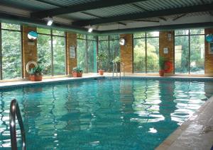 The swimming pool at or near Britannia Leeds Bradford Airport