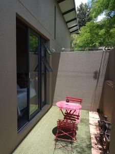 A patio or other outdoor area at 11 The Avenue